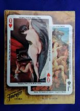 Vintage  playing cards The Nude in Art by Fournier 1977